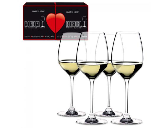 RIEDEL VERRE HEART TO HEART 3+1 GRATUIT RIESLING