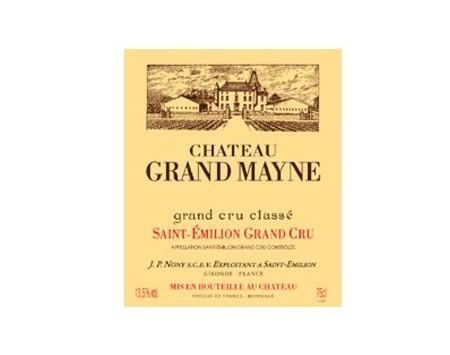 CHÂTEAU GRAND MAYNE rouge 1988