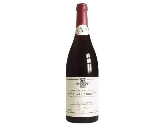 DOMAINE JEAN-LOUIS TRAPET GEVREY CHAMBERTIN ''Cuvée Ostréa'' rouge 2004