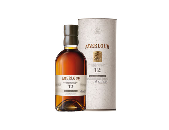 WHISKY ABERLOUR 12 ANS NON CHILL FILTERED