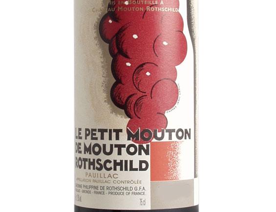LE PETIT MOUTON DU CHÂTEAU MOUTON-ROTHSCHILD 2013