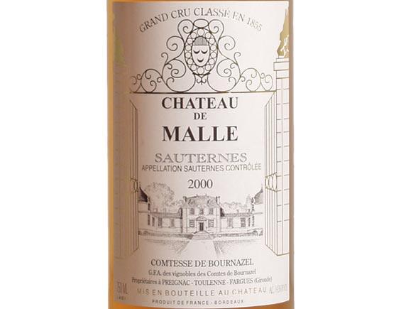 CHÂTEAU DE MALLE  2000
