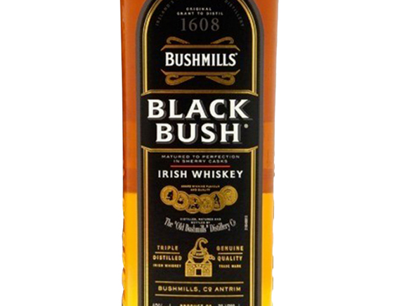 WHISKY BUSHMILLS BLACK BUSH GIFT TUBE