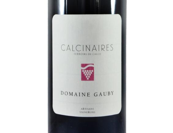DOMAINE GAUBY LES CALCINAIRES ROUGE 2016