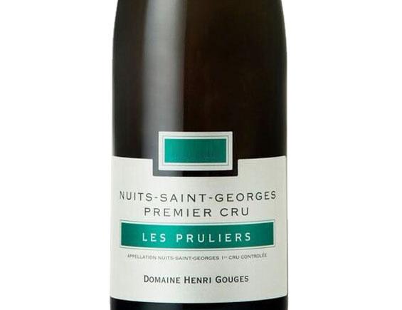 DOMAINE HENRI GOUGES NUITS ST GEORGES 1ER CRU LES PRULIERS 2015