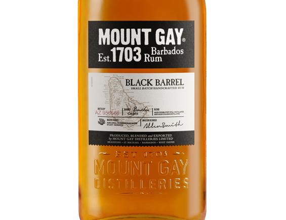 RHUM MOUNT GAY BLACK BARREL