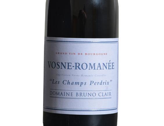 DOMAINE BRUNO CLAIR VOSNE-ROMANÉE LES CHAMPS PERDRIX ROUGE 2016