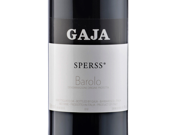 GAJA SPERSS BAROLO 2014