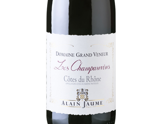 ALAIN JAUME DOMAINE GRAND VENEUR LES CHAMPAUVINS ROUGE 2016