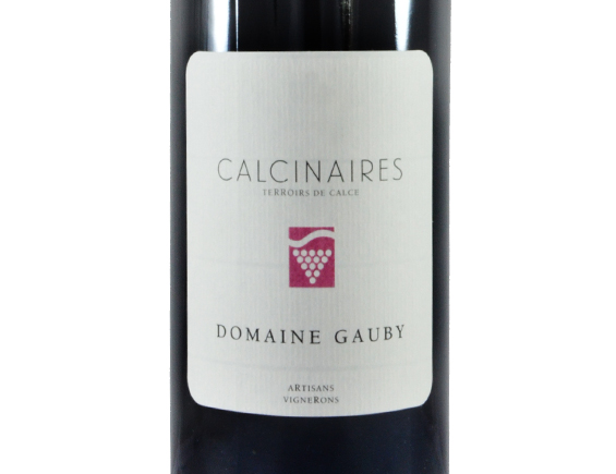 DOMAINE GAUBY LES CALCINAIRES ROUGE 2018