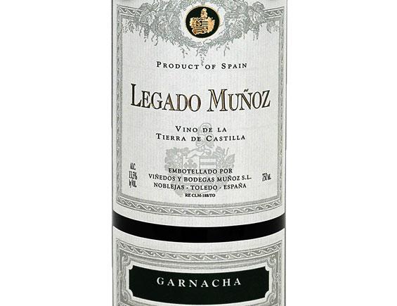 LEGADO MUNOZ GARNACHA 2018