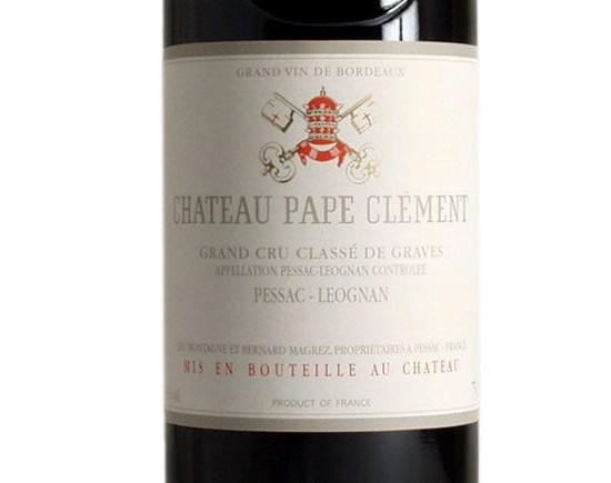 CHÂTEAU PAPE CLÉMENT rouge 2003, Cru Classé de Graves