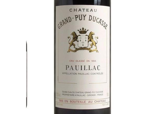 CHÂTEAU GRAND-PUY DUCASSE rouge 2004, Cinquième Cru Classé en 1855