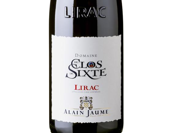 ALAIN JAUME DOMAINE DU CLOS DE SIXTE LIRAC ROUGE 2017