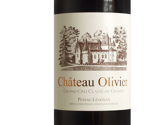 CHATEAU OLIVIER ROUGE 1996