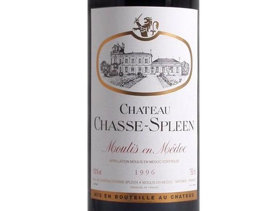 CHÂTEAU CHASSE-SPLEEN 1996