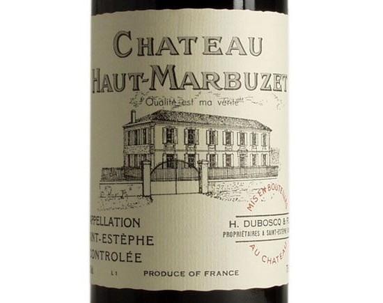 CHÂTEAU HAUT-MARBUZET rouge 2000, Cru Bourgeois
