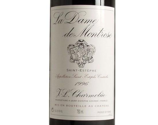 LA DAME DE MONTROSE rouge 1996, Second vin du Château Montrose