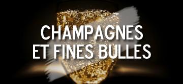 Champagnes et fines bulles