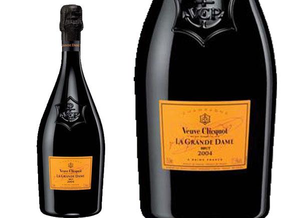 CHAMPAGNE VEUVE CLICQUOT LA GRANDE DAME 2004 SOUS COFFRET