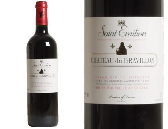 saint emilion 2010 achat chateau du gravillon saint emilion 2010 wineandco. Black Bedroom Furniture Sets. Home Design Ideas