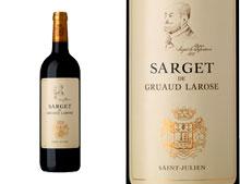 SARGET DE GRUAUD-LAROSE 2012
