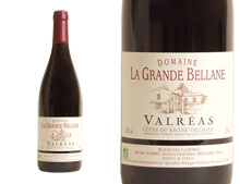 DOMAINE LA GRANDE BELLANE VALR�AS BIO 2009 Rouge