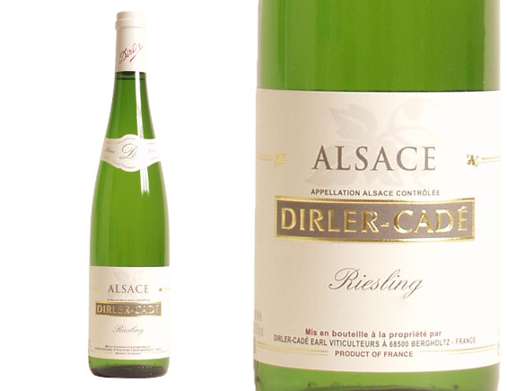 DOMAINE DIRLER-CAD� RIESLING 2011 Blanc