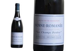 DOMAINE BRUNO CLAIR VOSNE-ROMANÉE LES CHAMPS PERDRIX ROUGE 2012