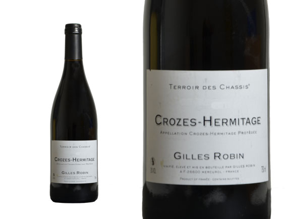 DOMAINE GILLES ROBIN CROZES-HERMITAGE TERROIR DES CHASSIS 2013 Rouge