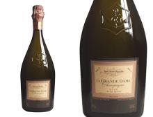 CHAMPAGNE VEUVE CLICQUOT LA GRANDE DAME ROSÉ 2004