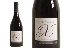 XAVIER VINS CHATEAUNEUF DU PAPE ANONYME 2010