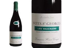 DOMAINE HENRI GOUGES NUITS ST GEORGES 1ER CRU LES VAUCRAINS 2013