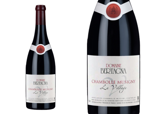 DOMAINE BERTAGNA CHAMBOLLE-MUSIGNY VILLAGE ROUGE 2014