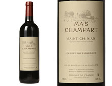 MAS CHAMPART SAINT-CHINIAN CAUSSE DU BOUSQUET ROUGE 2013