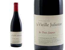 DOMAINE DE LA VIEILLE JULIENNE CHÂTEAUNEUF-DU-PAPE LES TROIS SOURCES ROUGE 2013