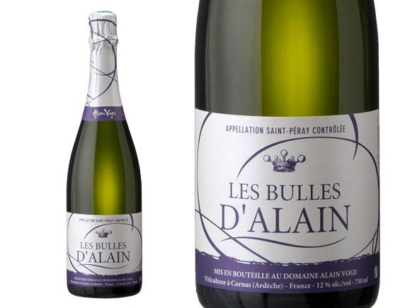 DOMAINE ALAIN VOGE SAINT- PERAY LES BULLES D'ALAIN 2011