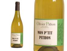 DOMAINE OLIVIER PITHON MON P'TIT PITHON BLANC 2015 Mon P'tit Pithon blanc 2015, un blanc très gourmand La biodynamie permet de travailler dans