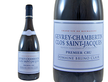 DOMAINE BRUNO CLAIR GEVREY-CHAMBERTIN 1ER CRU CLOS SAINT JACQUES ROUGE 2014