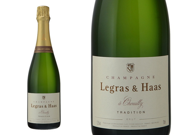 CHAMPAGNE LEGRAS & HAAS BRUT TRADITION