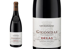 DELAS GIGONDAS LES REINAGES ROUGE 2013