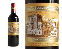 CH�TEAU DUCRU-BEAUCAILLOU rouge 2001, Second Cru Class� en 1855