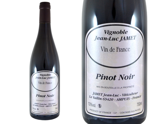 JEAN LUC JAMET PINOT NOIR 2015