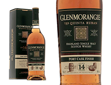 WHISKY GLENMORANGIE THE QUINTA RUBAN PORT EXTRA MATURED 12 ANS ETUI