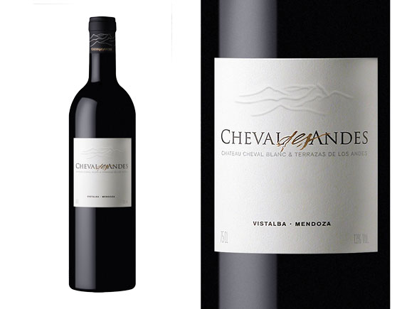 CHEVAL DES ANDES ROUGE 2012