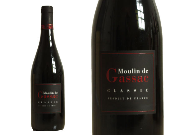 MOULIN DE GASSAC CLASSIC ROUGE 2015