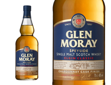 WHISKY GLEN MORAY CHARDONNAY CASK