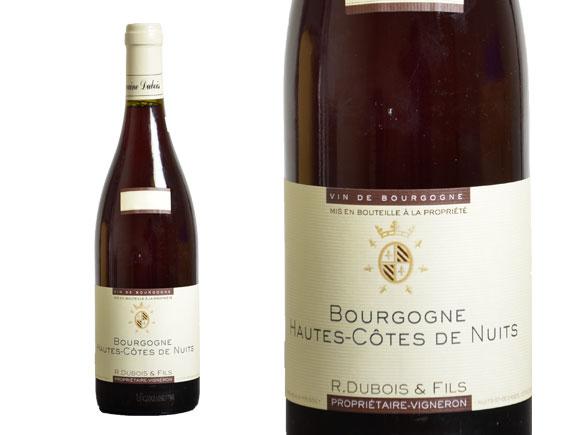 DOMAINE R DUBOIS & FILS HAUTES CÔTES DE NUITS ROUGE 2015