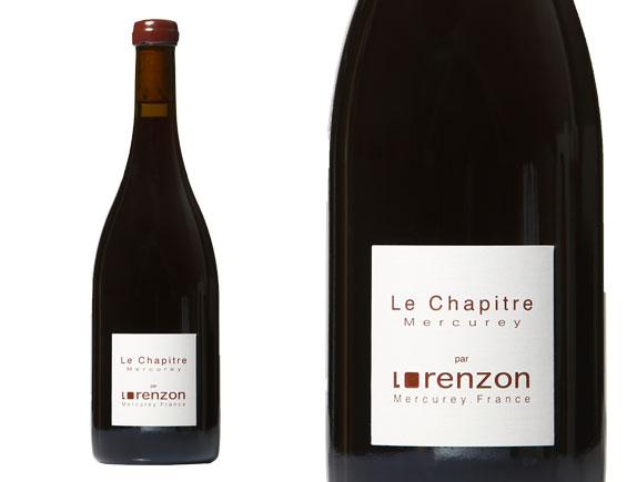 DOMAINE LORENZON  MERCUREY LE CHAPITRE 2015