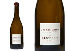 DOMAINE LORENZON  CHAMPS MARTIN